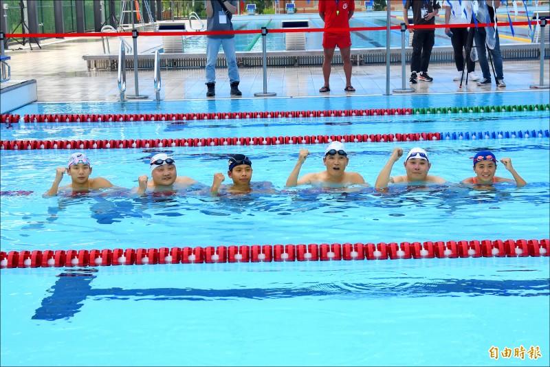 世大運組裝泳池 國訓接手啟用