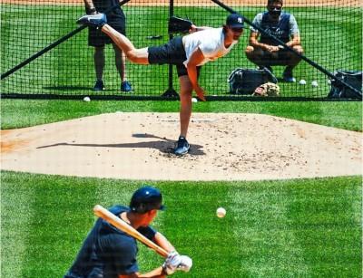 MLB》「法官」親自上場對決 柯爾球速直逼160公里(影音)