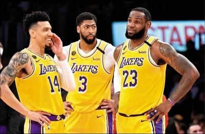 NBA》專家評估是染疫高風險族群 湖人再有一人不參加復賽
