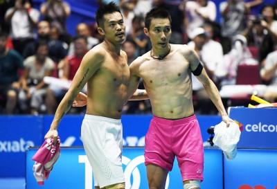 羽球》林丹宣布退休 李宗偉:祝福我最偉大的對手