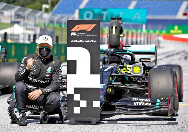 F1開季排位賽 伯塔斯奪桿位
