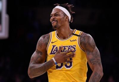 NBA》點出「魔獸」對湖人重要性 庫茲馬大力讚賞