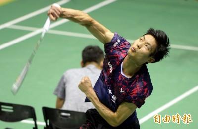 羽球》連3天以直落二輕取對手 周天成點出台灣男單問題