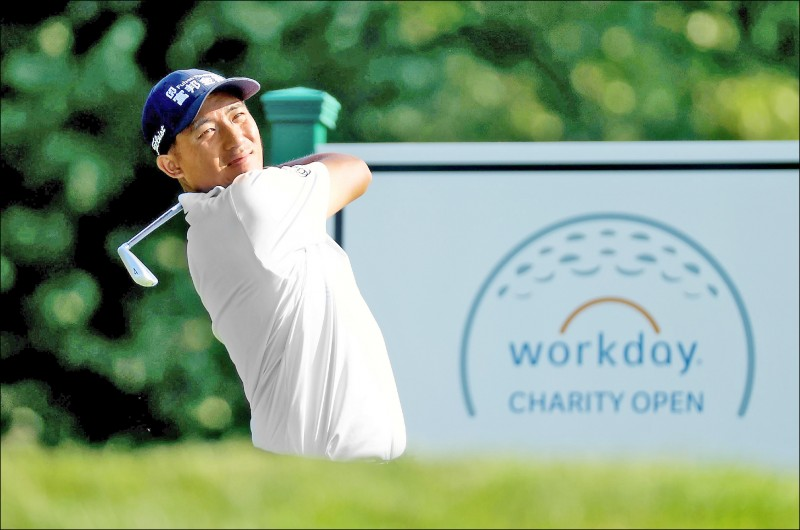 PGA工作日慈善高球賽》先展「鷹」姿後亂流 小潘調整手感