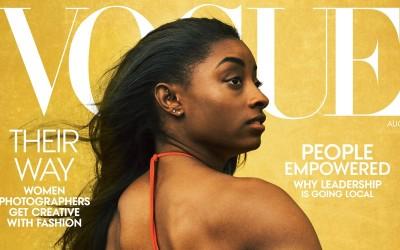 體操》榮登8月Vogue雜誌封面 美國天后拜爾絲勇敢揮別憂鬱
