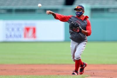 MLB》林子偉生涯一壘初體驗! 卡位大聯盟利多(影音)