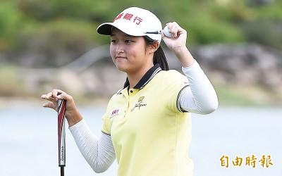 高球》被譽為「曾雅妮接班人」16歲小將吳佳晏大聯大女子高球賽封后