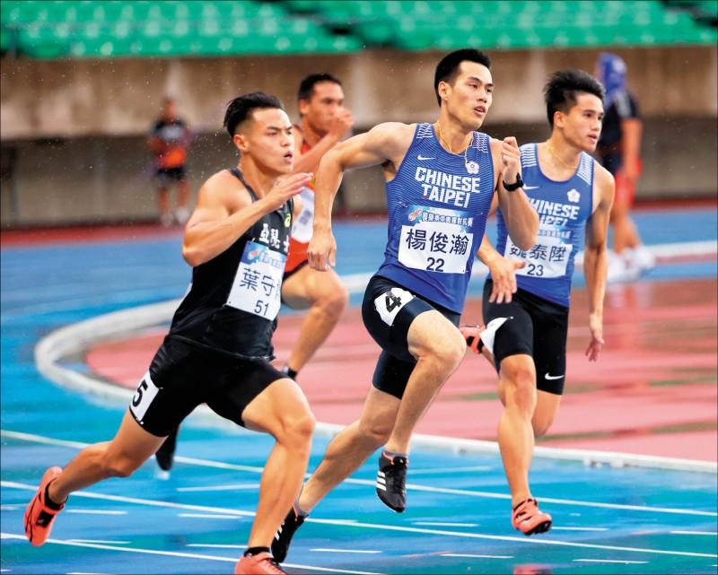 東奧模擬賽》19歲魏泰陞 跑贏「台灣最速男」