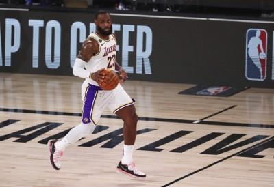 NBA》湖人拚西部頭號種子 詹姆斯:有主場優勢嗎?