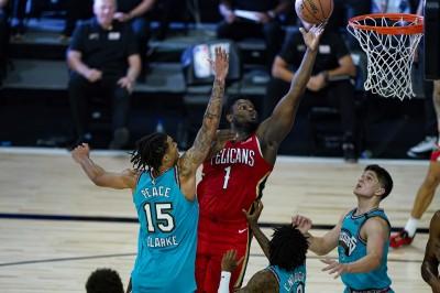 NBA》Z.威廉森展高效砍23分 率鵜鵠力克灰熊