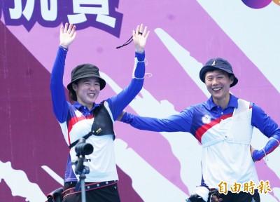 東奧模擬賽》谷底反彈 「不敗女王」 彭家楙退世錦賽金牌雷千瑩封后