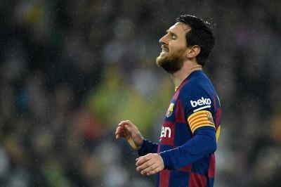 足球》巴塞隆納主席爆料:梅西將在3、4年後退役