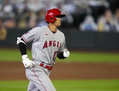 MLB》大谷開轟1數據遠超前人 美媒驚:快叫他練外野