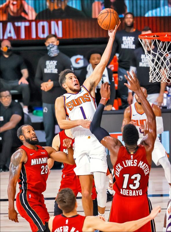 NBA復賽驚奇》最猛球隊 太陽5連勝 未嘗敗績