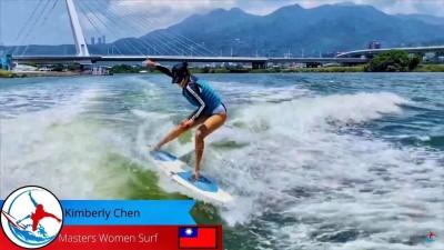 衝浪》用網路也能參加國際賽 台將陳美彤奪銀牌揚名國際