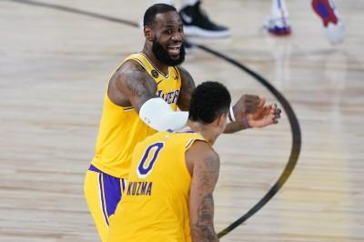 NBA》湖人爭冠關鍵! 詹皇狂讚絕殺英雄庫茲馬