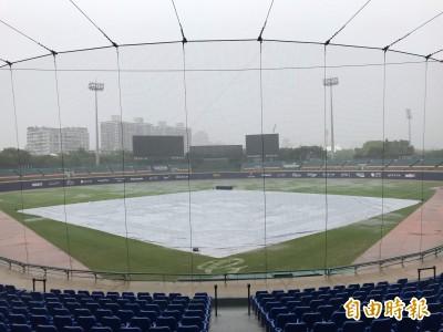 中職》北部午後雷雨 新莊球場富邦、樂天之戰宣布延賽