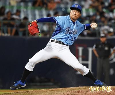 中職》新練球種逐漸熟悉 賴鴻誠下半季反彈