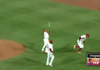MLB》內野高飛球沒必死! 費城人2度低級失誤敗掉比賽(影音)