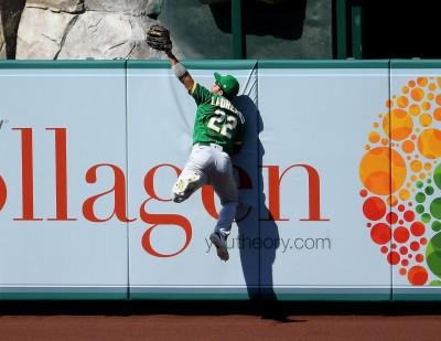 MLB》大谷熄火無安打 勞瑞安諾超狂美技助運動家取勝(影音)