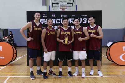 籃球》跟上國際 FIBA3x3 王志群首創131鬥牛賽制