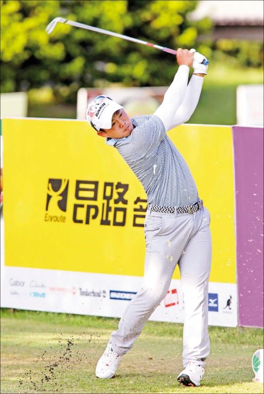 台灣名人賽暨三商杯高爾夫邀請賽》李玠柏138桿單獨領先