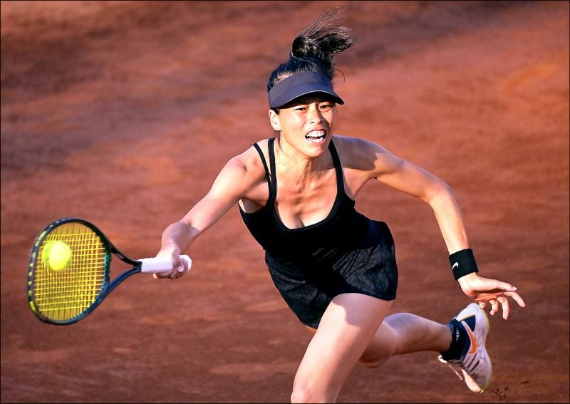 羅馬網賽 謝淑薇闖進女雙決賽