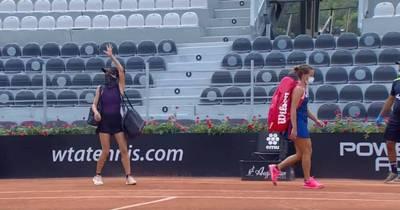 網球》一盤未失直闖決賽 謝淑薇向「無觀眾」致意引熱議 (影音)