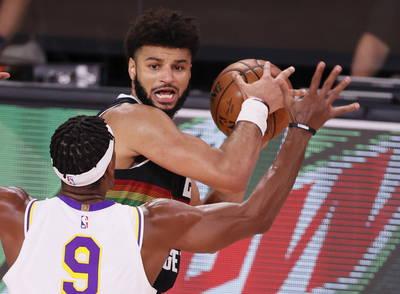 NBA》詹皇大三元無用 金塊J.穆雷關鍵三分轟垮湖人扳回一城