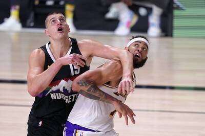 NBA》湖人三大長人「落漆」 全場只抓4顆籃板