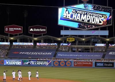 MLB》道奇4轟擊退運動家 連8年奪分區冠軍