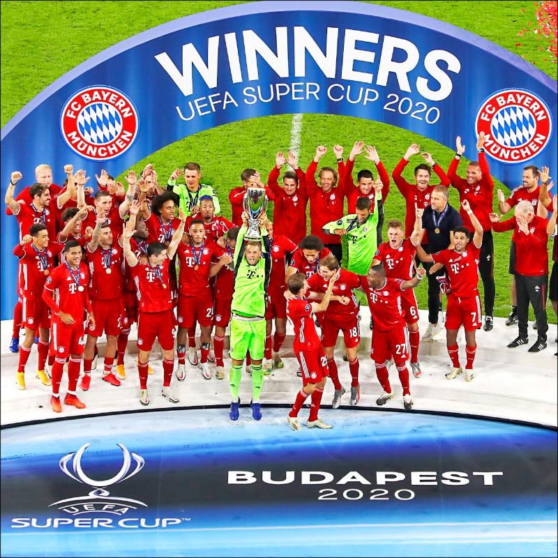 歐洲超級盃 拜仁慕尼黑奪冠