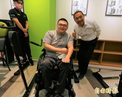 銀髮族、身障者天堂 全國首座「輪椅夢公園」開幕