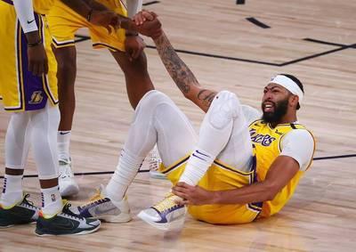 NBA》上役腳踝大扭帶傷拚戰   湖人主帥曝「一眉哥」最新狀況