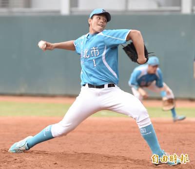 棒球》穀保火球男目「飆」160公里  明年畢業不選秀