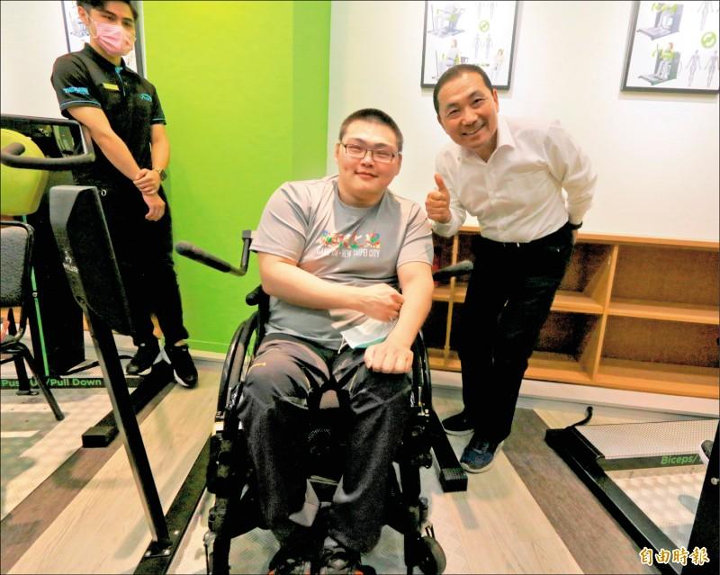 新北輪椅夢公園 健身無障礙