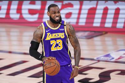 NBA》湖人挑戰第17冠 最關鍵人物還是「大帝」詹姆斯