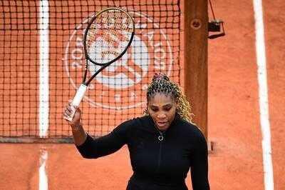 網球》天后小威驚傳傷退!法網女單次輪無法出賽