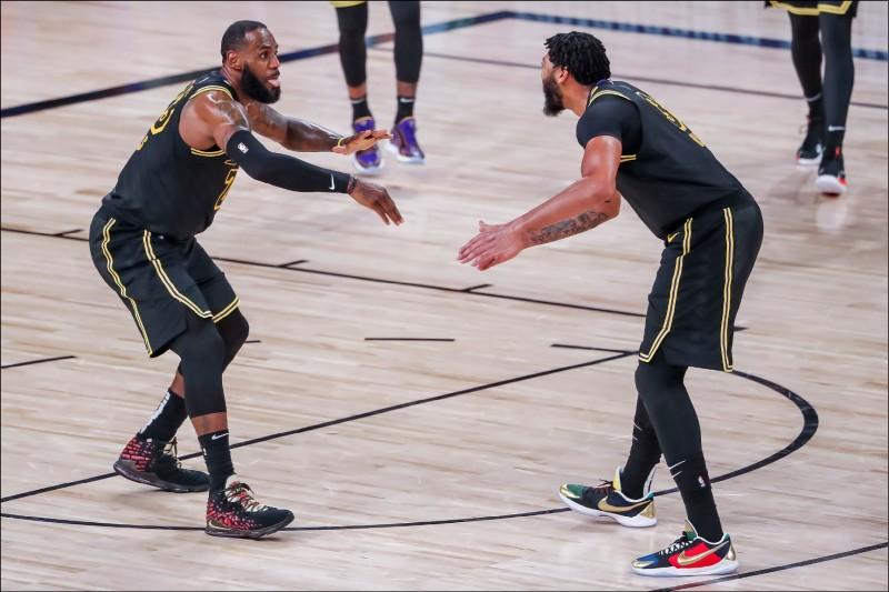 NBA爭霸解盤》LA連線無敵 4:1成定番