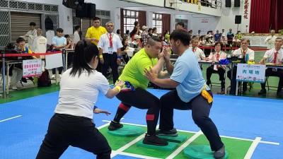 全民運動會太極拳推手 台東隊伍校樟首次奪金