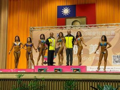 全民運動會 台南蔡梅芳奪女子健美比基尼組第1級金牌