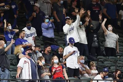 MLB》有球迷真好!  道奇透納:「這才是季後賽的感覺」