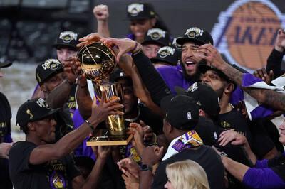 NBA》湖人力拚2連霸 兩大冠軍班底可能續留