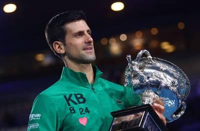 網球》「兒時總捧紙獎盃想像奪冠」喬科維奇鼓勵年輕世代勇敢做夢