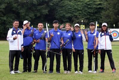 射箭》協會青年隊初生之犢不怕虎 強勢射下男、女團冠軍