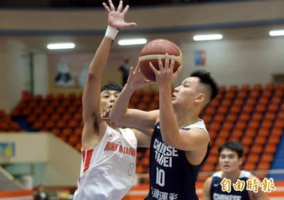 molten挑戰賽》年輕小將組成的台灣白隊 23分大勝台銀