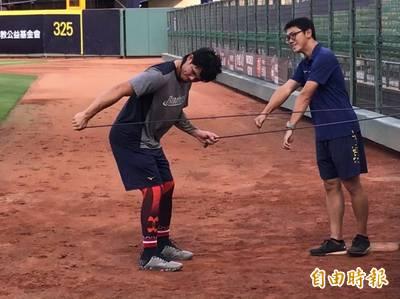 中職》張志豪拚台灣大賽歸隊 關鍵在週四練習賽