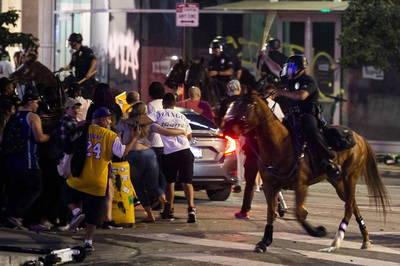 MLB》記取湖人教訓 洛杉磯警方加派道奇球場維安人力