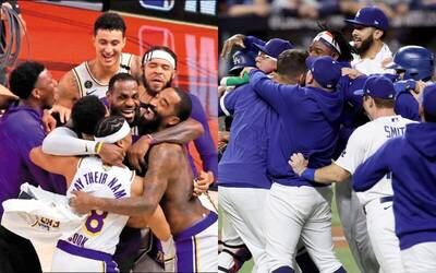 NBA》詹皇讚洛杉磯是冠軍之城 棒籃雙冠神巧合致敬Kobe