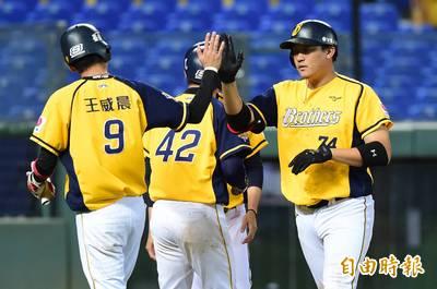 象獅爭霸》兄弟帶12名左打破台灣大賽紀錄  統一僅1左投